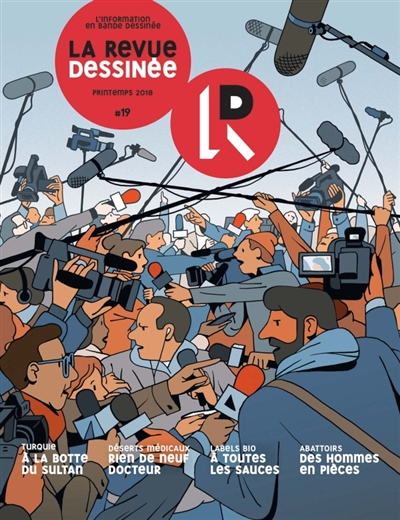 LA REVUE DESSINEE N 19 COLLECTIF Lgdj